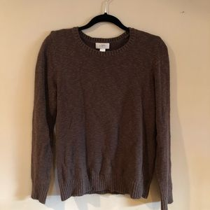 Loft Ann Taylor brown sweater